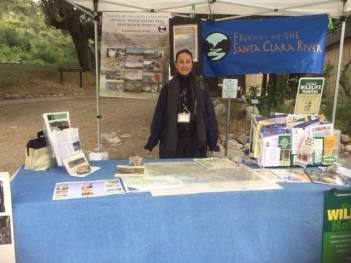 FSCR Booth at Placerita Canyon Nature Center